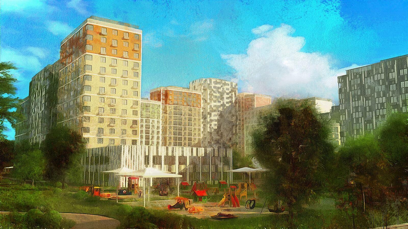 ЖК Лучи — ипотека под солнцем, новостройка в Солнцево