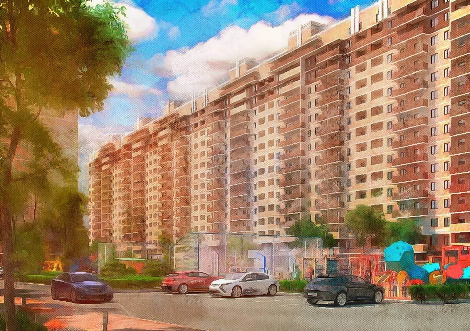 ССК ЖК Притяжение в ипотеку г.Краснодар. Цены на квартиры от застройщика
