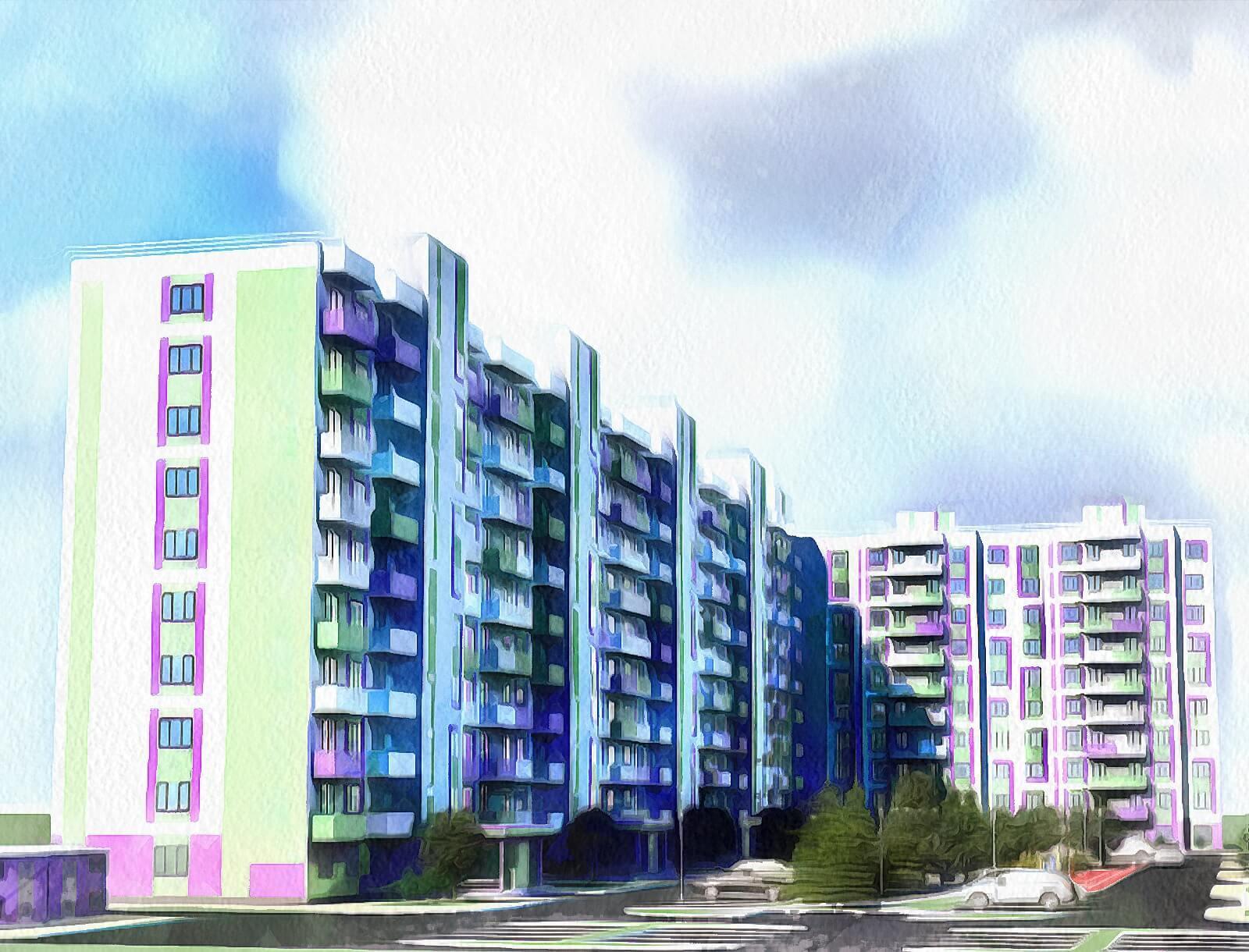 ЖК Life-комплекс Горки в ипотеку, цены на квартиры от застройщика