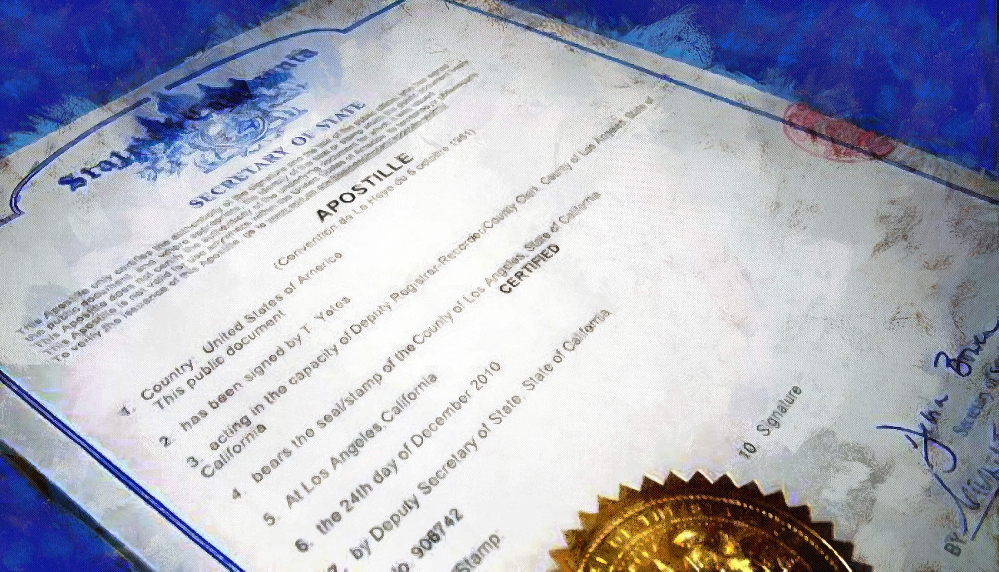 Что такое апостиль документов и зачем он нужен